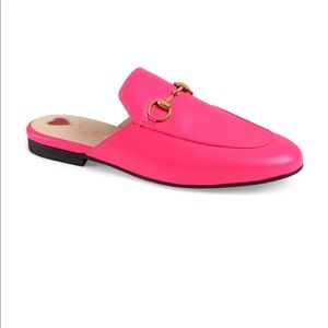 New Pink Gucci mules